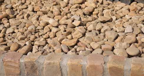 river rock landscaping rocks georgia landscape supply