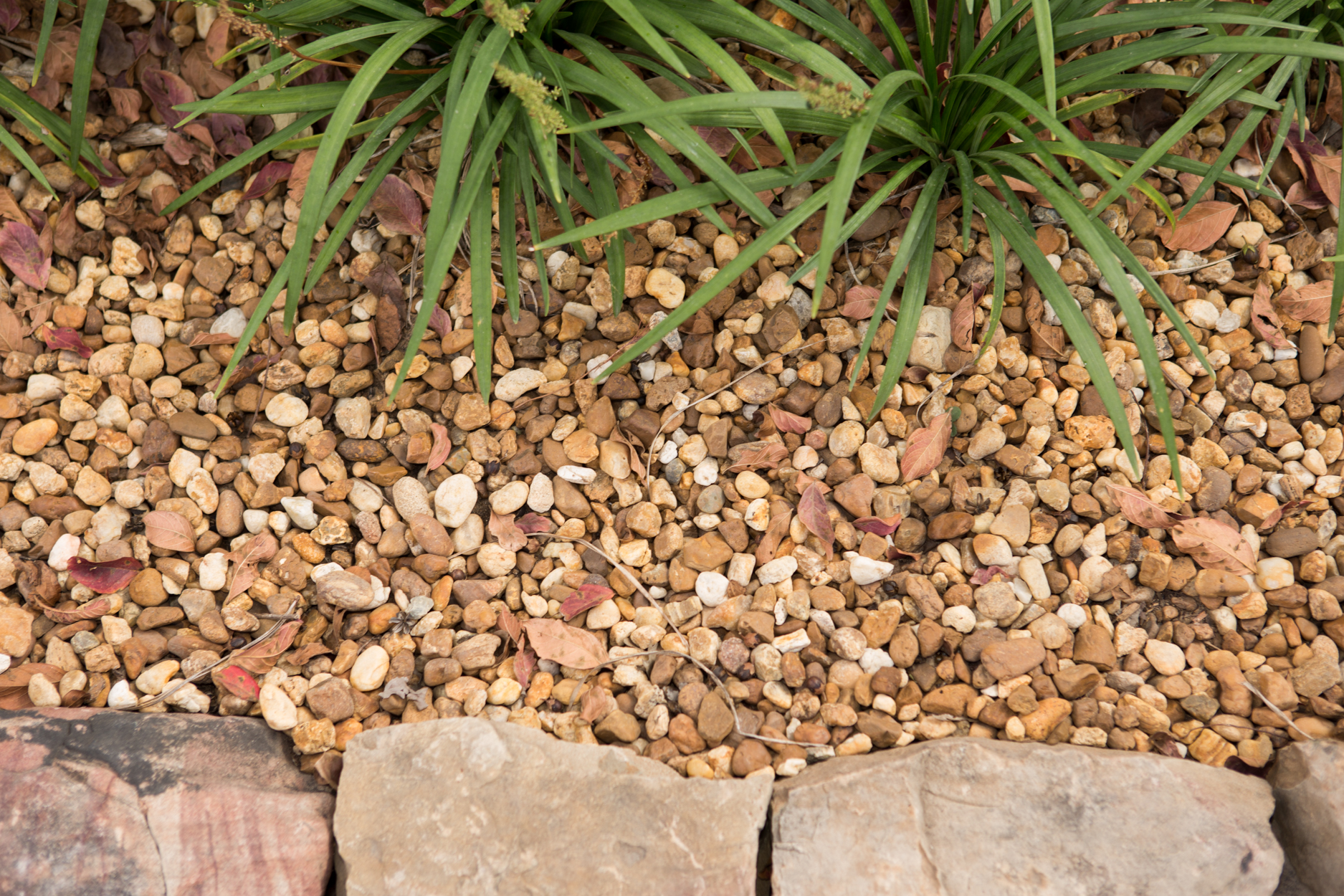 10 Ton River Rock : Pea gravel georgia landscape supply