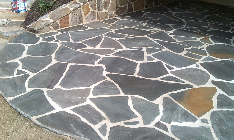 Blue Crab Orchard Flagstone Medium 330 Per Ton