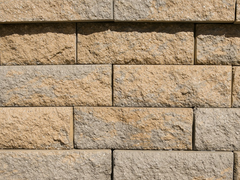 Highland Stone, Rock Blend---$5.60 per block - Retaining Wall Block Highland Georgia Landscape Supply