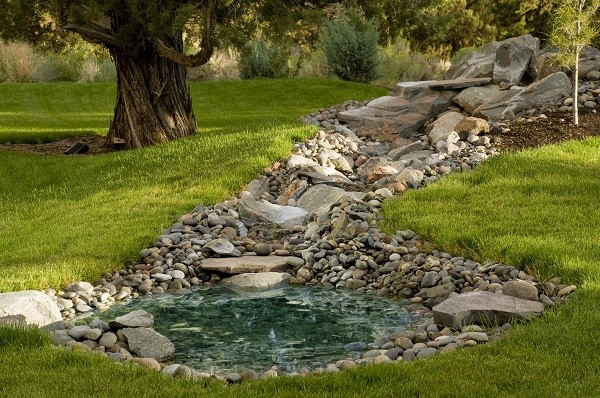 ... This Project Is Made With Our Garden Boulders ...