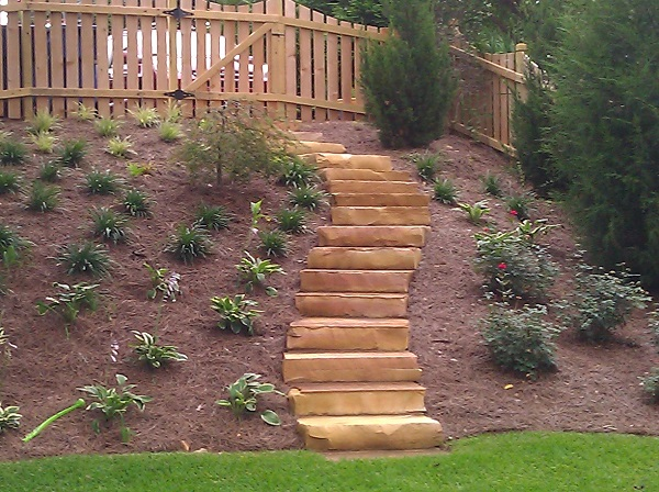 Flagstone Stair Treads Georgia Landscape Supply